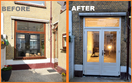 New windows improves the value of your house - Optimum Contractors Den Haag